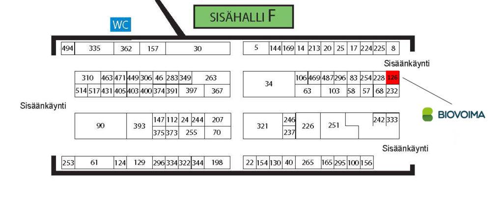 Suomen Biovoiman löydät osastolta F126 OKRA-messuilla. Tervetuloa juttusille!