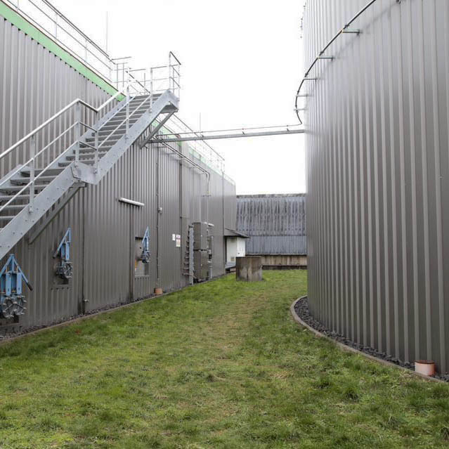 Biogas plant – from organic waste and side streams to income