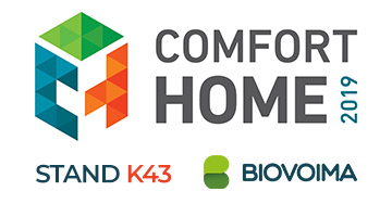 Biovoima in Comfort Home 2019 at stand K43. See you there!