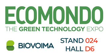 Biovoima in Ecomondo at stand 024 in hall D6. See you there!