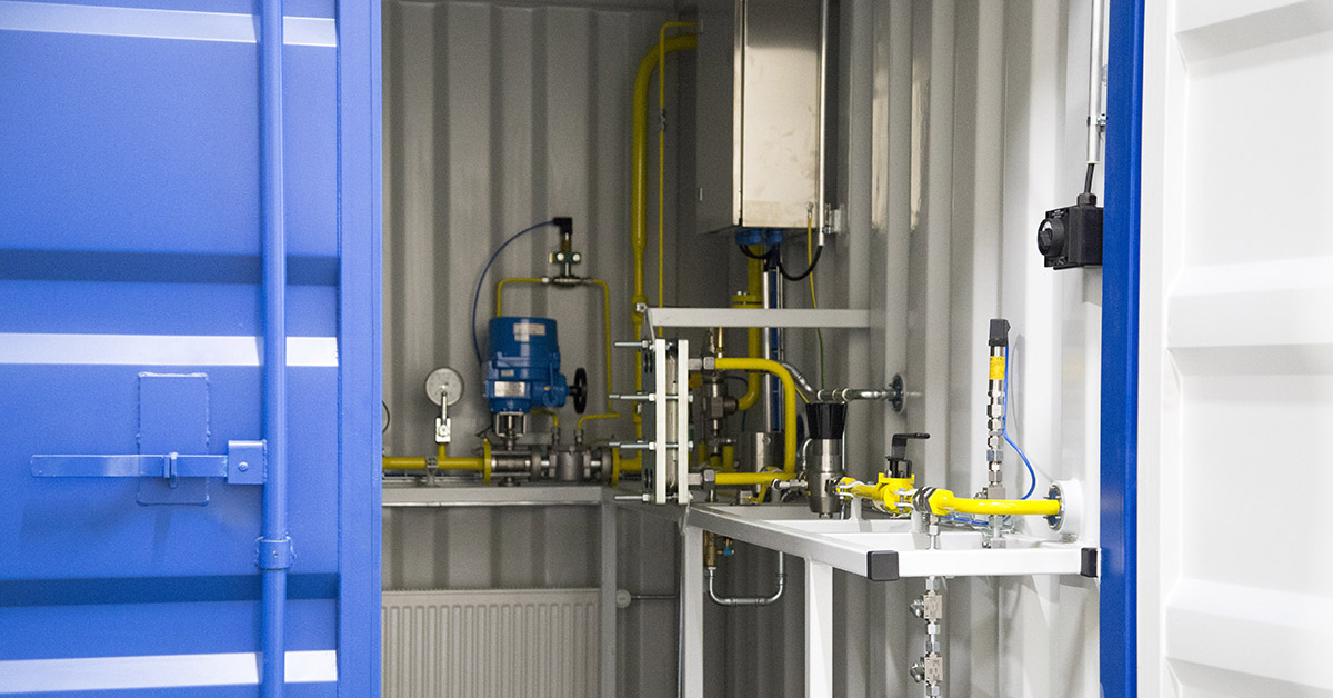 Biomethane grid connection unit promotes the growth of fossil-free fuels