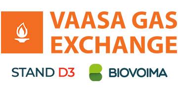 Suomen Biovoima osallistuu Vaasa Gas Exchange 2020 -tapahtumaan. Osasto D3. Tule juttusille!