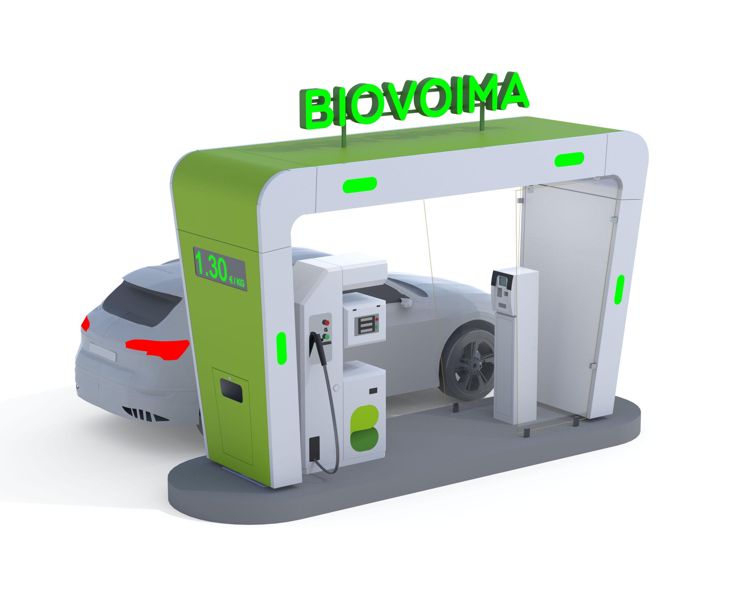 Skaalautuva BioPark<sup>®</sup> Kaasuntankkausasema