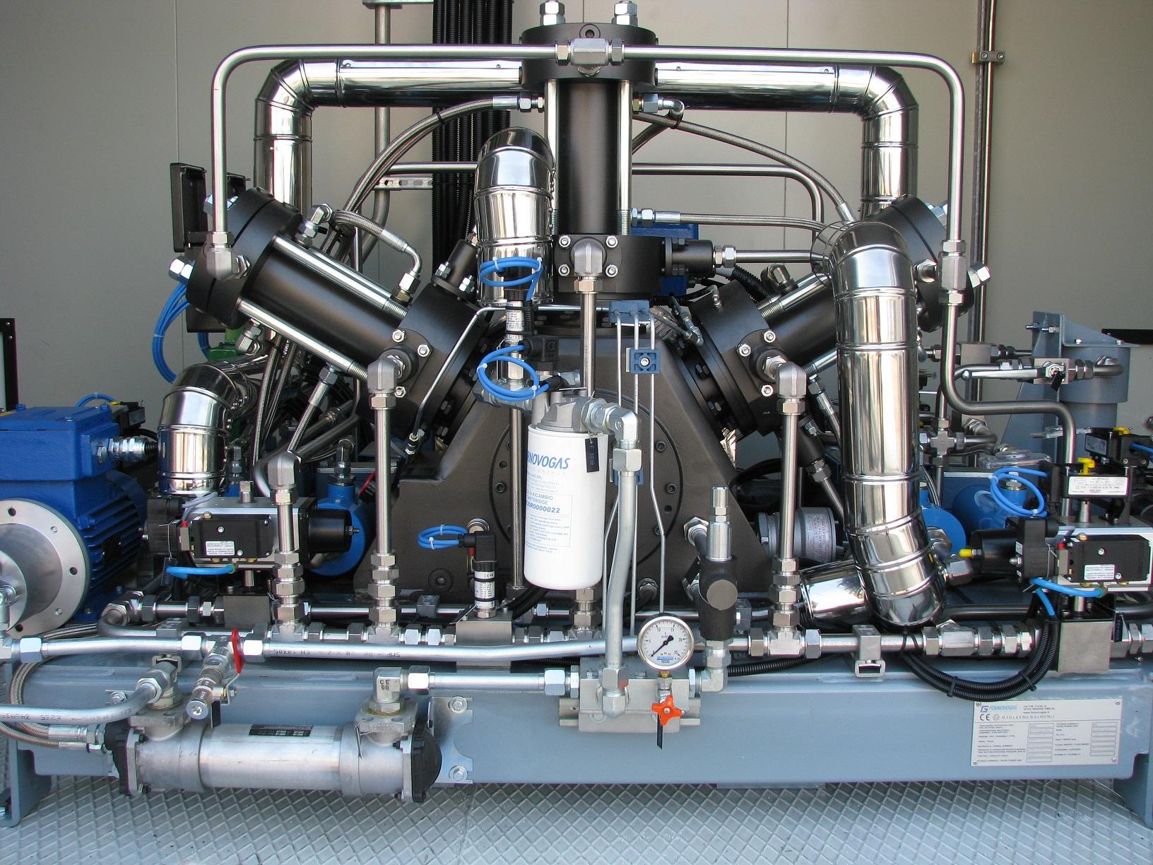 Kaasukompressorien markkinajohtaja takaa teknisen laadun