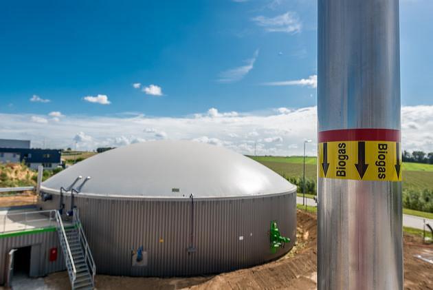 Biokaasulaitos - märkädätäyslaitos.