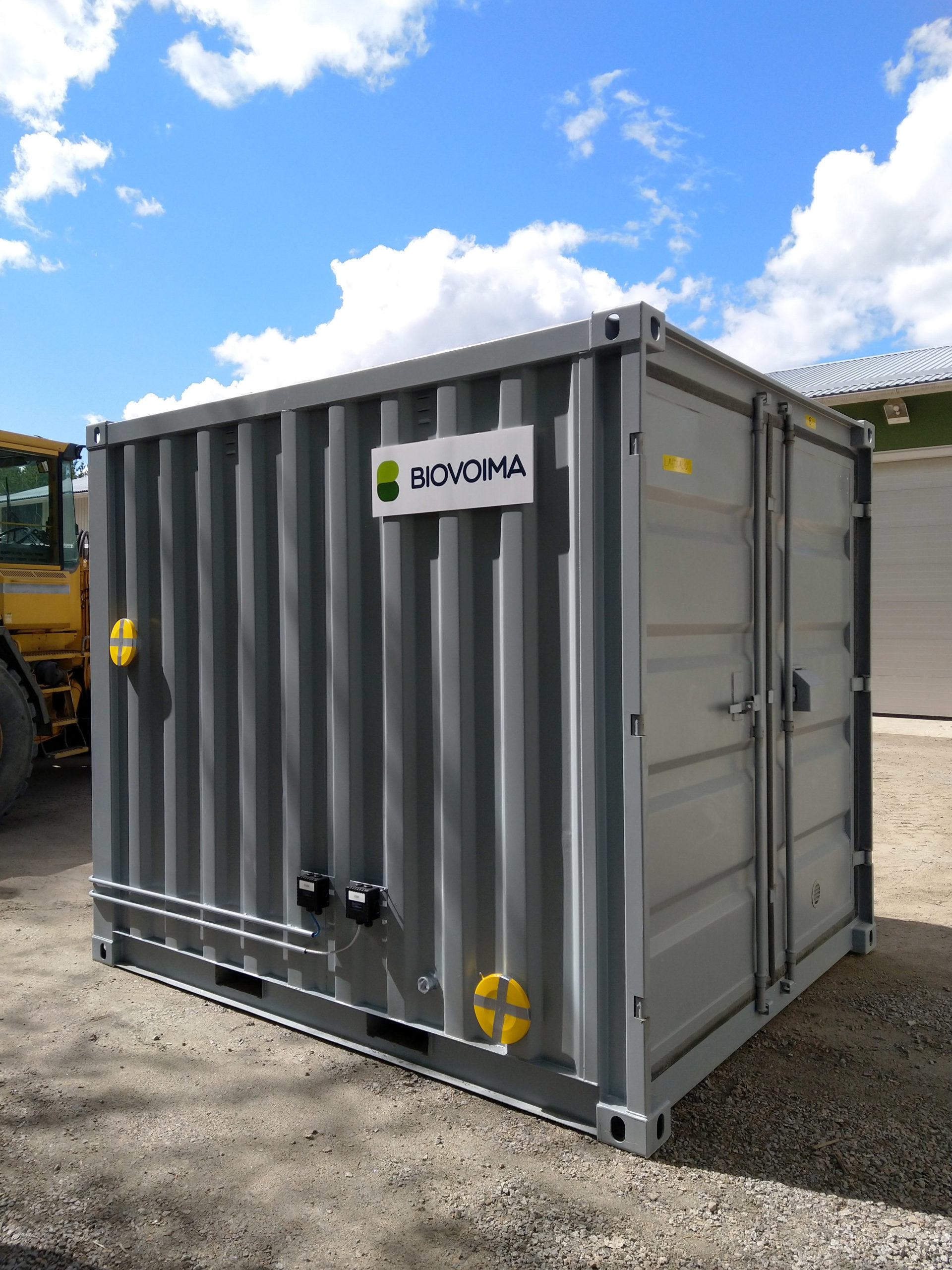 Grid injection unit – biomethane injection into the natural gas grid